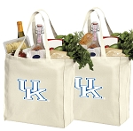 University of Kentucky Shopping Bags Kentucky Wildcats Grocery Bags 2 PC SET