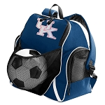 Ladies Kentucky Wildcats SOCCER Backpack or VOLLEYBALL Bag