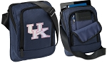 Ladies Kentucky Wildcats Tablet or Ipad Shoulder Bag Navy
