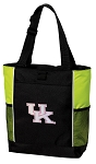 Pink UK Wildcats Logo Tote Bag COOL LIME