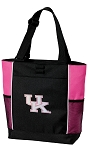 Pink UK Wildcats Logo Neon Pink Tote Bag