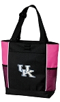 Kentucky Wildcats Neon Pink Tote Bag