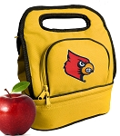 Louisville Cardinals Lunch Bag Gold