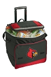 Louisville Cardinals Rolling Cooler Bag Red