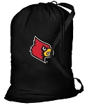 Louisville Cardinals Laundry Bag Black