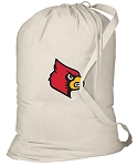 Louisville Cardinals Laundry Bag Natural