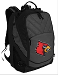 Louisville Cardinals Deluxe Laptop Backpack Black