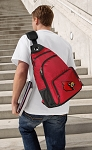 UofL Backpack Cross Body Style Red