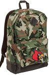 Louisville Cardinals Camo Backpack
