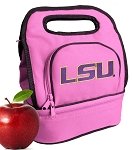 LSU Tigers Lunch Bag Pink