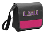 LSU Tigers Lunch Bag Cooler Pink