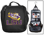 LSU Tigers Toiletry Bag or LSU Shaving Kit Travel Organizer for Men