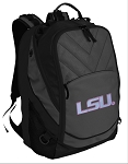 Ladies LSU Deluxe Laptop Backpack Black