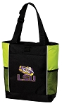LSU Tote Bag COOL LIME
