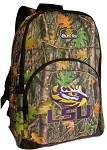 LSU Backpack REAL CAMO DESIGN