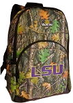 LSU Tigers Backpack REAL CAMO DESIGN