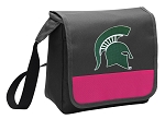 Michigan State Lunch Bag Cooler Pink