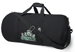 Michigan State Peace Frog Duffle Bags