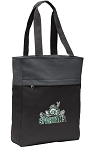 Michigan State Peace Frog Tote Bag Everyday Carryall Black