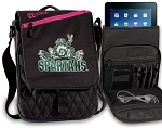 Michigan State Peace Frog Tablet Bags & Cases Pink