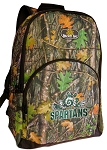 Michigan State Peace Frog Backpack REAL CAMO DESIGN