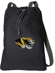 University of Missouri Cotton Drawstring Bag Backpacks