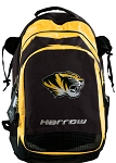 Mizzou Harrow Field Hockey Lacrosse Backpack Bag Yellow