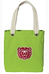 Missouri State Tote Bag RICH COTTON CANVAS Green
