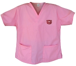 Missouri State University Pink Scrubs Tops SHIRT