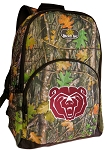 Missouri State University Backpack REAL CAMO DESIGN