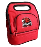 Miami University Lunch Bag Red