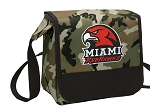 Miami Redhawks Lunch Bag Cooler Camo