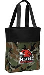 Miami Redhawks Tote Bag Everyday Carryall Camo