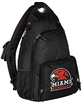 Miami University Redhawks Backpack Cross Body Style