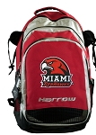 Miami University Harrow Field Hockey Backpack Bag Red
