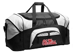 Ole Miss Duffel Bags or University of Mississippi Gym Bags For Men or Women