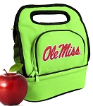 Ole Miss Lunch Bag Green