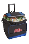 University of Mississippi Rolling Cooler Bag Blue