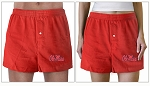 MIssissippi Boxers Red