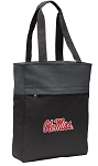 University of Mississippi Tote Bag Everyday Carryall Black
