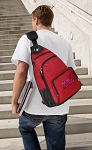 University of Mississippi Backpack Cross Body Style Red