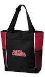 University of Mississippi Tote Bag Red