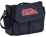 Ole Miss Diaper Bag Navy
