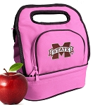 Mississippi State Lunch Bag Pink