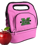 Marshall University Lunch Bag Pink