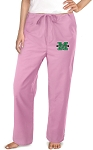 Marshall University Pink Scrubs Pants Bottoms