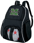Marshall University Soccer Backpack or Marshall Volleyball Bag For Boys or Girls