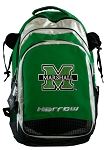 Marshall University Harrow Field Hockey Lacrosse Backpack Bag Green