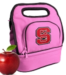 NC State Lunch Bag Pink