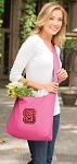 NC State Tote Bag Sling Style Pink
